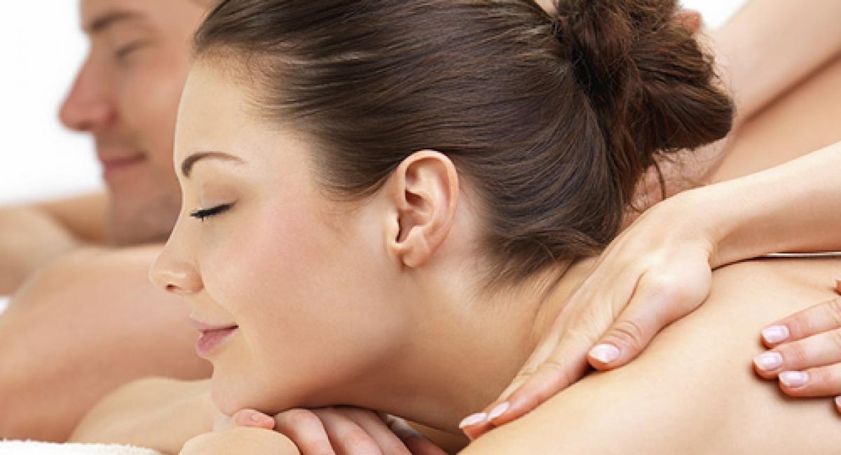 Un massage en duo